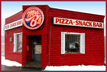 MRS B'S PIZZA & SNACK BAR